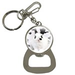 Animals Rabbits Brothers Bottle Opener Key Chain