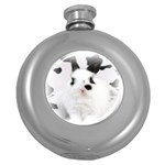 Animals Rabbits Brothers Hip Flask (5 oz)