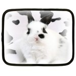 Animals Rabbits Brothers Netbook Case (Large)