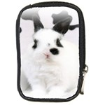 Animals Rabbits Brothers Compact Camera Leather Case