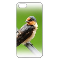 Bird Apple Seamless iPhone 5 Case (Clear) from DesignYourOwnGift.com Front