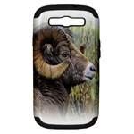 Bighorn Sheep Samsung Galaxy S III Hardshell Case (PC+Silicone)