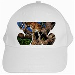 3 Dimention Kingdom Animal King Tree Climber Leopard  White Cap
