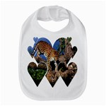 3 Dimention Kingdom Animal King Tree Climber Leopard  Bib