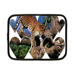 3 Dimention Kingdom Animal King Tree Climber Leopard  Netbook Case (Small)