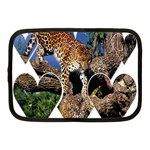 3 Dimention Kingdom Animal King Tree Climber Leopard  Netbook Case (Medium)