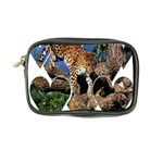 3 Dimention Kingdom Animal King Tree Climber Leopard  Coin Purse