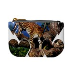 3 Dimention Kingdom Animal King Tree Climber Leopard  Mini Coin Purse