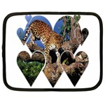 3 Dimention Kingdom Animal King Tree Climber Leopard  Netbook Case (XXL)