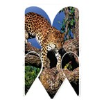 3 Dimention Kingdom Animal King Tree Climber Leopard  Memory Card Reader (Rectangular)