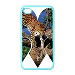 3 Dimention Kingdom Animal King Tree Climber Leopard  Apple iPhone 4 Case (Color)