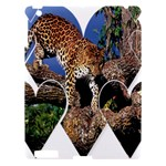 3 Dimention Kingdom Animal King Tree Climber Leopard  Apple iPad 3/4 Hardshell Case