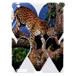 3 Dimention Kingdom Animal King Tree Climber Leopard  Apple iPad 3/4 Hardshell Case (Compatible with Smart Cover)