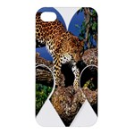 3 Dimention Kingdom Animal King Tree Climber Leopard  Apple iPhone 4/4S Premium Hardshell Case