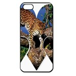 3 Dimention Kingdom Animal King Tree Climber Leopard  Apple iPhone 5 Seamless Case (Black)