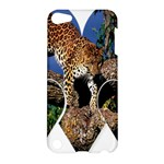 3 Dimention Kingdom Animal King Tree Climber Leopard  Apple iPod Touch 5 Hardshell Case