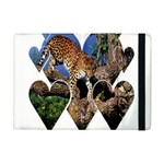 3 Dimention Kingdom Animal King Tree Climber Leopard  Apple iPad Mini Flip Case