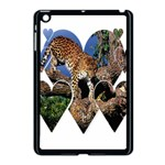 3 Dimention Kingdom Animal King Tree Climber Leopard  Apple iPad Mini Case (Black)