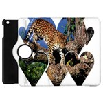 3 Dimention Kingdom Animal King Tree Climber Leopard  Apple iPad Mini Flip 360 Case