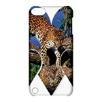 3 Dimention Kingdom Animal King Tree Climber Leopard  Apple iPod Touch 5 Hardshell Case with Stand