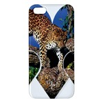 3 Dimention Kingdom Animal King Tree Climber Leopard  iPhone 5 Premium Hardshell Case