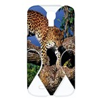 3 Dimention Kingdom Animal King Tree Climber Leopard  Samsung Galaxy S4 I9500 Hardshell Case