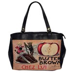 Buster Brown Oversize Office Handbag (One Side)