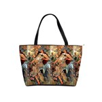 Autumn By Alfons Mucha 1896 Classic Shoulder Handbag