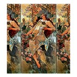 Autumn by Alfons Mucha 1896  Shower Curtain 66  x 72  (Large)