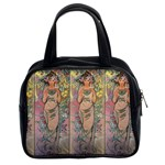 Die Rose By Alfons Mucha 1898 Classic Handbag (Two Sides)