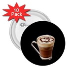 Having A Cup Of Love  2.25  Button (10 pack)
