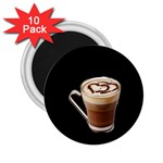 Having A Cup Of Love  2.25  Magnet (10 pack)