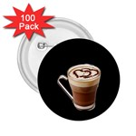 Having A Cup Of Love  2.25  Button (100 pack)
