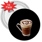 Having A Cup Of Love  3  Button (10 pack)