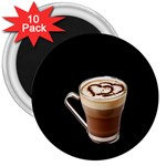 Having A Cup Of Love  3  Magnet (10 pack)