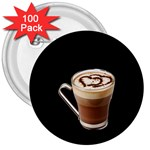 Having A Cup Of Love  3  Button (100 pack)