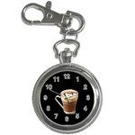 Having A Cup Of Love  Key Chain Watch