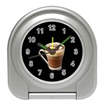 Having A Cup Of Love  Travel Alarm Clock