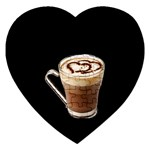 Having A Cup Of Love  Jigsaw Puzzle (Heart)
