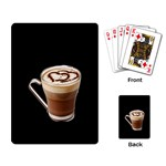 Having A Cup Of Love  Playing Cards Single Design