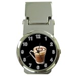 Having A Cup Of Love  Money Clip Watch