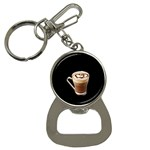 Having A Cup Of Love  Bottle Opener Key Chain