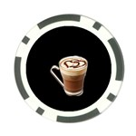 Having A Cup Of Love  Poker Chip Card Guard (10 pack)