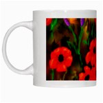 Poppies by Ave Hurley - White Mug