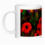 Poppies by Ave Hurley - Night Luminous Mug