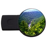 Pa Grand Canyon Long North View Of Gorge   Artrave USB Flash Drive Round (2 GB)
