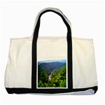 Pa Grand Canyon Long North View Of Gorge   Artrave Two Tone Tote Bag