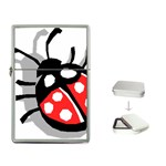 Lady Bug Flip Top Lighter