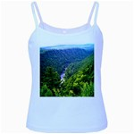 Pa Grand Canyon Long North View Of Gorge   Artrave Baby Blue Spaghetti Tank