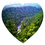Pa Grand Canyon Long North View Of Gorge   Artrave Jigsaw Puzzle (Heart)
